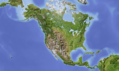 Canada Topography 1501
