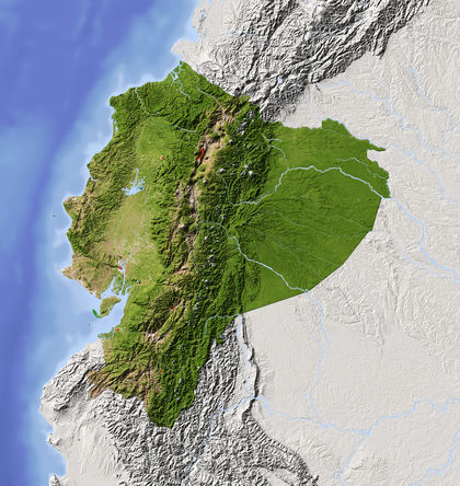 Ecuador Location Size And Extent 1200