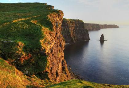 Climate - Ireland - average, area, annual, temperature   420 x 288 jpeg 33kB