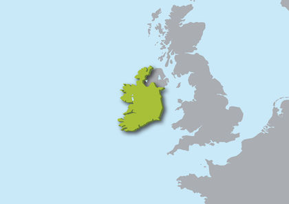 Ireland Location Size And Extent 1168