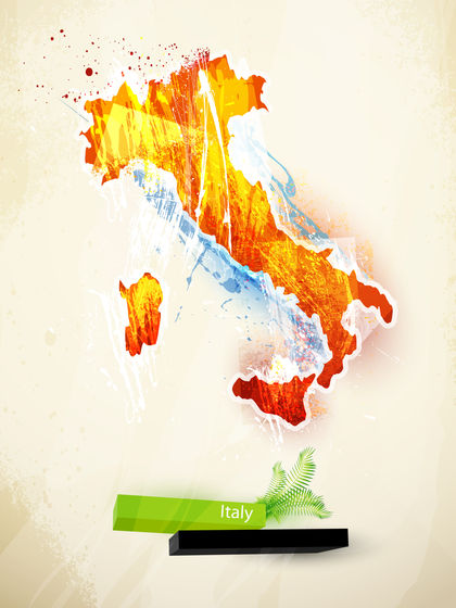 Italy Topography 1389