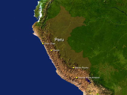 Peru Location Size And Extent 1883