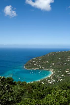 virgin islands to Travelling